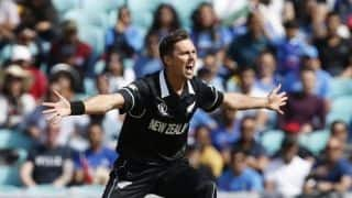 Different gloss, different paint on balls, so there's a little bit more swing: Trent Boult