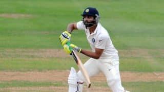 Indians finish Day 2 at 341/6 declared against Derbyshire in tour match; Cheteshwar Pujara, Stuart Binny score fifties