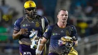 Dream11 Team St Kitts and Nevis Patriots vs Trinbago Knight Riders Caribbean Premier League 2019 – Cricket Prediction Tips For Today's CPL Eliminator SKN vs TKR at Providence Stadium, Guyana
