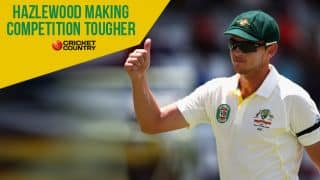 Hazlewood's compatibility with Johnson and Starc makes competition tougher in Australian bowling ranks