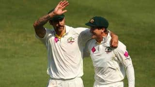 Mitchell Johnson backs George Bailey to lead Australia in ICC World Cup 2015
