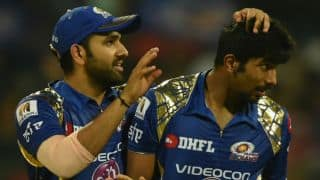 Indian T20 league 2018: Rohit Sharma backs Jasprit Bumrah