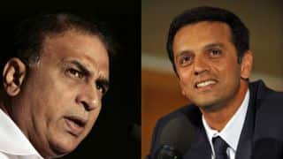 The real reason why Sunil Gavaskar wants Rahul Dravid to replace Duncan Fletcher as coach of Indian team!