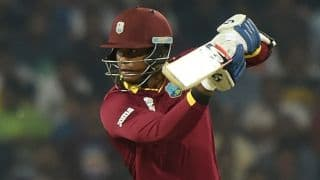 India vs West Indies Live: Marlon Samuels dismissed for 8 by Ashish Nehra in T20 World Cup 2016 semi-final