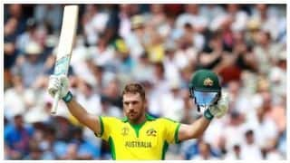 ICC CRICKET WORLD CUP 2019: Aaron finch hits century, England hold Australia to 285/7