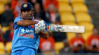 MS Dhoni fourth fastest to score 8000 runs
