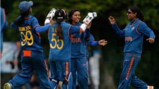 Ekta Bisht records best figures for India Women against Pakistan Women