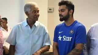 Virat Kohli relishes meeting Sir Garry Sobers