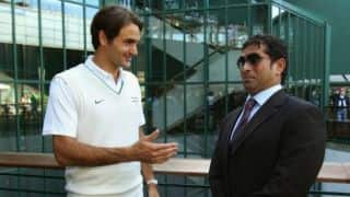 Tendulkar, Federer to exchange notes!
