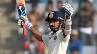 Ajinkya Rahane scores his 2nd ton of the match in India vs South Africa 2015, 4th Test at Delhi