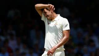 Mitchell Starc hasn't resumed bowling in the nets: Pat Cummins