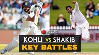 IND v BAN, one-off Test: Kohli vs Shakib and other key battles
