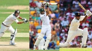 The Millennium Triplets: Ricky Ponting, Jacques Kallis and Rahul Dravid