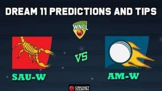SAU-W vs AM-W Dream11 Team South Australia Scorpions vs ACT Meteors Match 6 WNCL 2019-20 Aussie Women's ODD – Cricket Prediction Tips For Today's Match at Adelaide