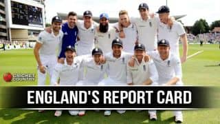 Ashes 2015: England's marks out of 10