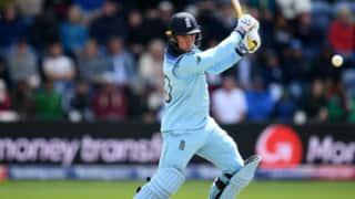 अगले दो विश्व कप मैचों से बाहर हुए इंग्लैंड के जेसन रॉय