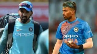 Pandya and Rahul escape ban, asked to donate to paramilitary forces and promotion of blind cricket