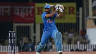 Dhoni defends inexperienced Indian batting line-up