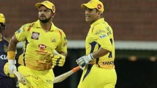 Suresh Raina believes MS Dhoni's presence creates pressure on other teams