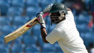 Bangladesh 79/2 against Zimbabwe at tea on Day 4