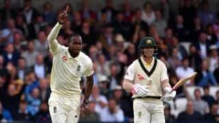 Ashes 2019: Rain stops play after Australia lose Khawaja, Harris before tea