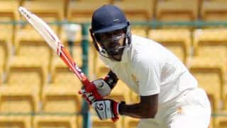 Live Cricket Score Karnataka vs Tamil Nadu Ranji Trophy final, Day 2: KL Rahul, Karun Nair score tons