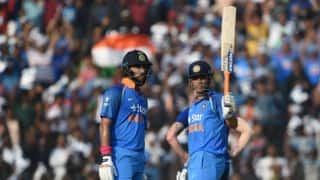 Yuvraj , Dhoni's partnership takes India down memory lane; seal series 2-0