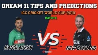 Dream11 Prediction: BAN vs NZ, Cricket World Cup 2019, Match 9 Team Best Players to Pick for Today's Match between Bangladesh and New Zealand at 6 PM