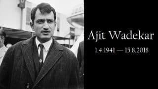 Ajit Wadekar: The man who taught India to win overseas