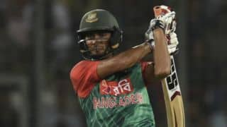 Mahmudullah's 49 takes Bangladesh to 156-5 against Australia in T20 World Cup 2016