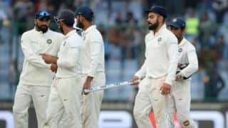 India, Sri Lanka settle for draw in Delhi Test; hosts win series 1-0