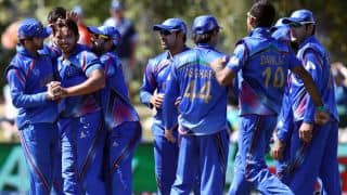 Afghanistan pull off a nail-biting 5-run win vs Zimbabwe in 1st T20I at Sharjah