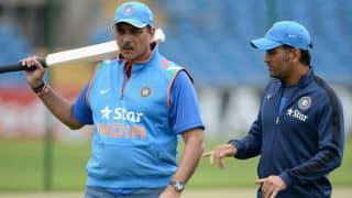 Shastri, Dhoni's pay revealed by BCCI