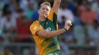 Chris Morris ruled out of ODI series vs Australia