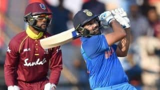 India vs West Indies, 4th ODI: Rohit, Rayudu power India to 377 for 5
