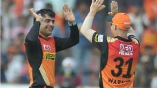 IPL 2018: Rashid Khan maintains strike rate of 340, most of any player for Sunrisers Hyderabad