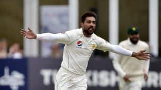 Aamer proves fitness test ahead of Pakistan's first Test against England