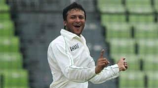 Shakib-al-Hasan roars back with 6-wicket haul