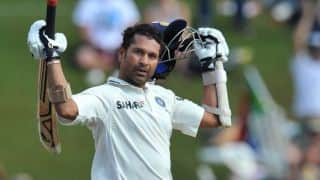 Sachin Tendulkar reveals he used to talk to his bats
