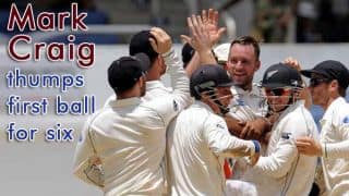 Craig and other batsmen who smashed six off first ball