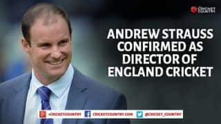 Andrew Strauss confirmed as Director of England cricket