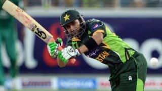 Pakistan vs New Zealand 2014: Shahid Afridi scores his 37th ODI half-century