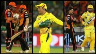 धोनी की गैरमौजूदगी में बिखरा चेन्नई का बल्लेबाजी क्रम, राशिद खान ने दिखाया कमाल