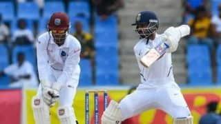 IND vs WI, Day-4: रहाणे-विहारी के बीच 100 रन की साझेदारी से भारत ने बनाई 362 रन की बढ़त