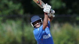 Afghanistan set target of 260 against Zimbabwe in 4th ODI at Bulawayo