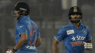 India vs Pakistan, Asia Cup T20 2016, Match 4 at Dhaka: Virat Kohli's 49, Mohammad Aamer's 3-18, and other highlights from 2nd innings