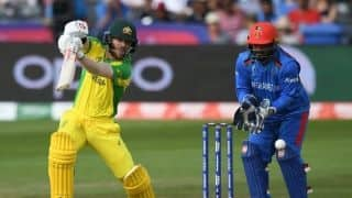 Australia vs Afghanistan, Match 4 live score: Warner, Cummins, Zampa lead Australia to emphatic seven-wicket victory