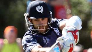 Scotland post challenging 318 against Bangladesh in ICC Cricket World Cup 2015