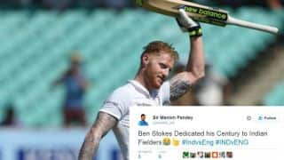 Ben Stokes enters top trends on Twitter after fighting ton against India at Rajkot