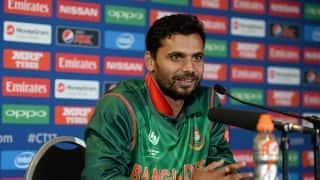 ICC Champions Trophy 2017: Mashrafe Mortaza Post Match Press Conference, Bangladesh vs New Zealand, Match 9